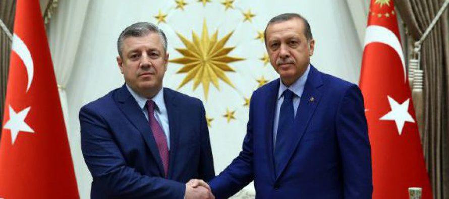 გიორგი კვირიკაშვილი თურქეთის რესპუბლიკის პრეზიდენტს  რეჯეპ ტაიპ ერდოღანს შეხვდა