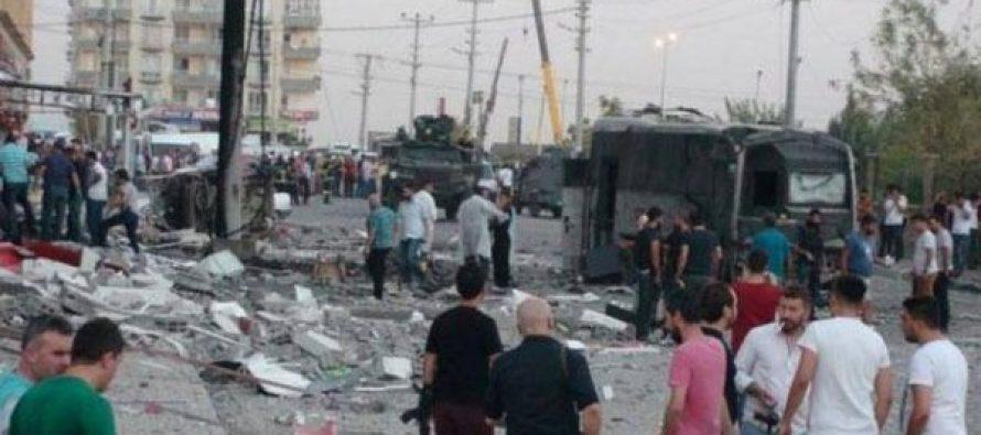 თურქეთის სამხრეთ-აღმოსავლეთ ნაწილში ორ ტერაქტს რვა ადამიანი ემსხვერპლა