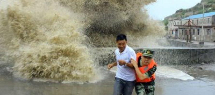 """ჩინეთის სამხრეთით ტაიფუნ """"ნიდას"""" გამო განგაშია გამოცხადებული"""