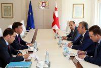 საქართველოს პრემიერ-მინისტრი EPP-ის ვიცე-პრეზიდენტს შეხვდა