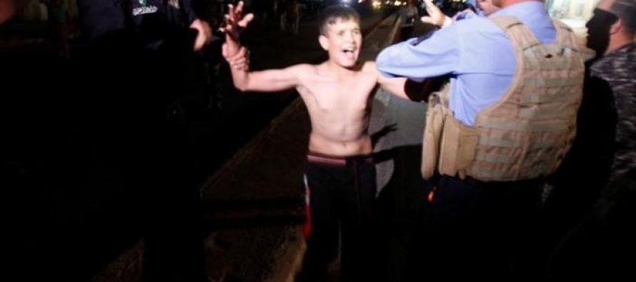 """ერაყში დააკავეს 11 წლის ბიჭი, რომელსაც """"შაჰიდის ქამარი"""" ეკეთა"""
