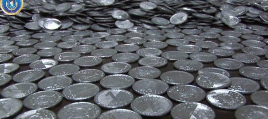 საგამოძიებო სამსახურმა ყალბი ფულის დამზადება-გასაღების ფაქტზე ერთი პირი დააკავა