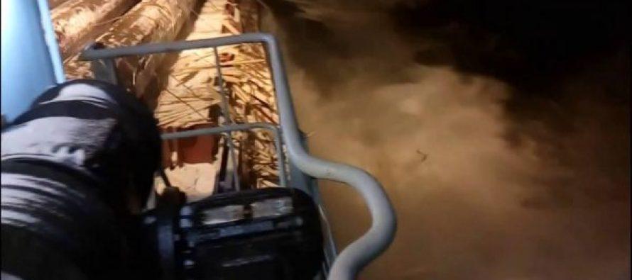(video) მეზღვაურების გულგრილობის შედეგად მილიონი დოლარის ღირებულების ტვირთი ზღვაში ჩაიძირა