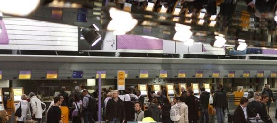 ბომბის არსებობის საფრთხის გამო ფრანკფურტის აეროპორტიდან მგზავრთა ევაკუაცია განხორციელდა