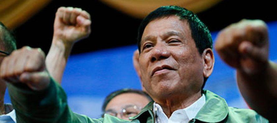 ფილიპინების პრეზიდენტმა ევროკავშირი ეშმაკებთან გააგზავნა