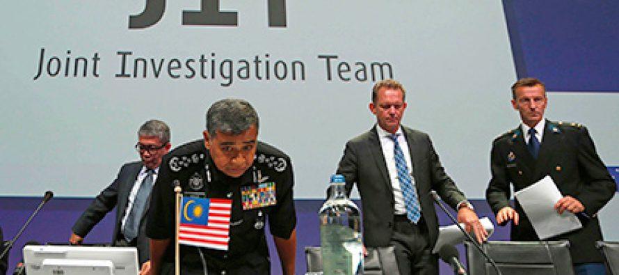 გამომძიებლება MH17-ს კატასტროფაში რუსების შესაძლო მონაწილეობაზე კომენტარი არ გააკეთეს (ვიდეო)