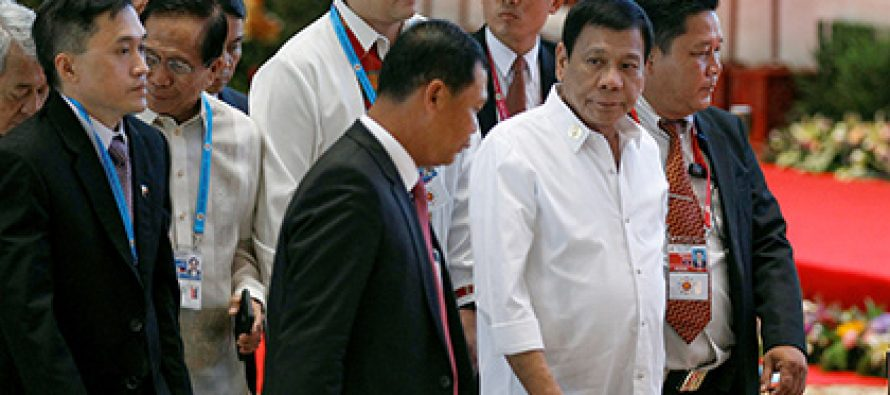 ფილიპინების პრეზიდენტის მიერ ობამას გალანძღვის შემდეგ ჩინეთი ფილიპინეთან ურთიერთობას ამყარებს