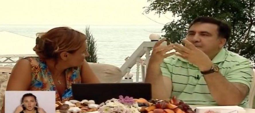 (video) მიხეილ სააკაშვილი: წელს კახეთში ყურძენს დავწურავ