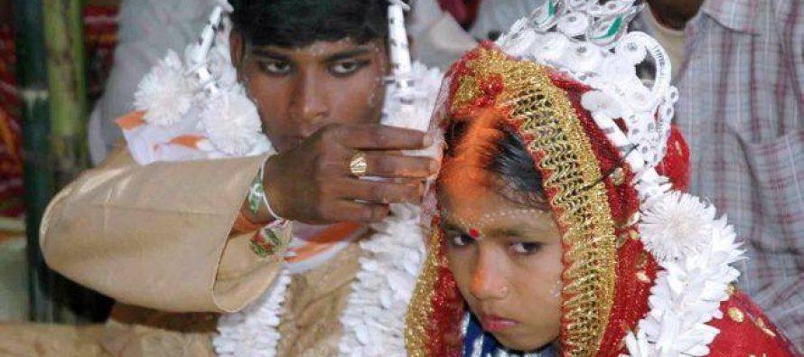 მსოფლიოში ყოველ 7 წამში თხოვდება 15 წლამდე გოგონა