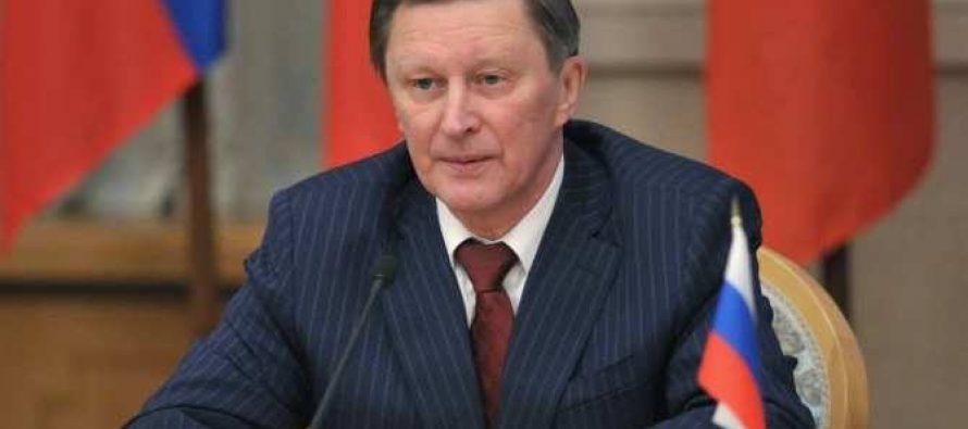 სერგეი ივანოვი : ცხინვალში სიტუაციის გამწვავების შემთხვევისთვის, რუსეთს სამოქმედო გეგმა ჯერ კიდევ 2007 წელს ჰქონდა