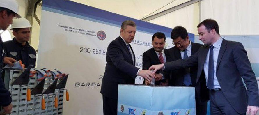 საქართველოში კიდევ ერთი თბოელექტროსადგურის მშენებლობა იწყება