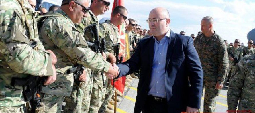თავდაცვის მინისტრმა ქართული ბატალიონი ავღანეთში გააცილა