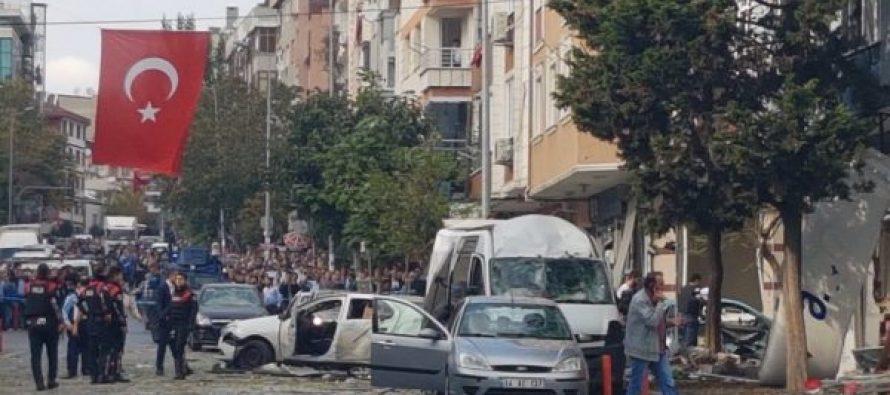 სტამბოლში მომხდარი აფეთქებისას ათამდე ადამიანი დაშავდა