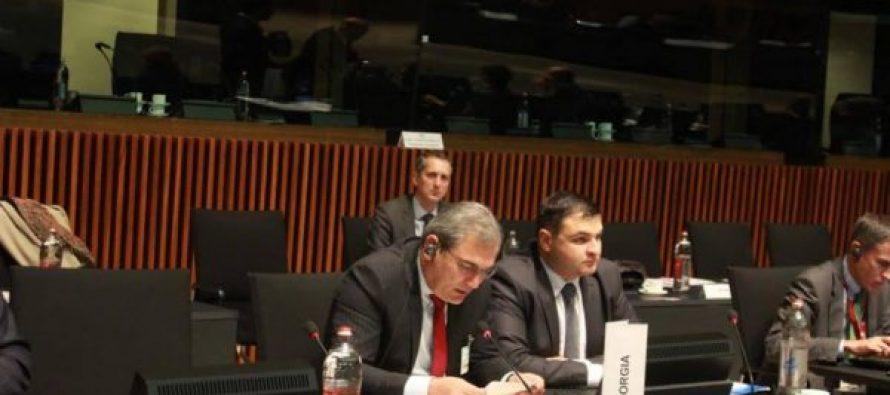 გიგლა აგულაშვილი აღმოსავლეთ პარტნიორობის მინისტერიალზე იმყოფება