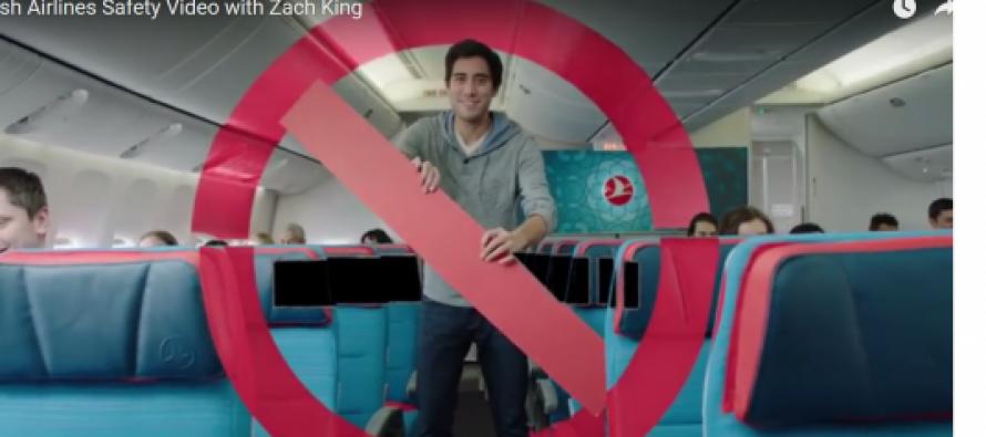 თურქული ავიახაზების ვიდეოინსტრუქცია ჰიტი გახდა (ვიდეო)