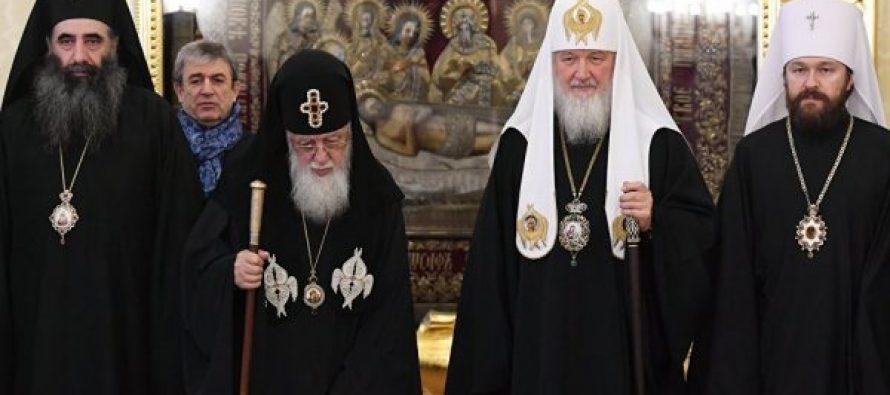 რუსეთის პატრიარქი – უდიდეს მნიშვნელობას ვანიჭებ საქართველოს პატრიარქის ვიზიტს, ეკლესიების როლს ჩვენ ხალხებს შორის კეთილი ურთიერთობების შენარჩუნებაში