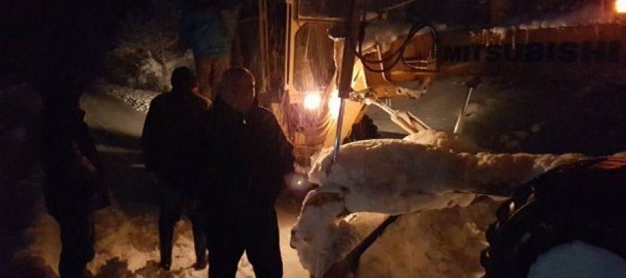 თოვლის საფარმა 1 მეტრს გადააჭარბა–რა ხდება ამ დროისთვის წალენჯიხაში