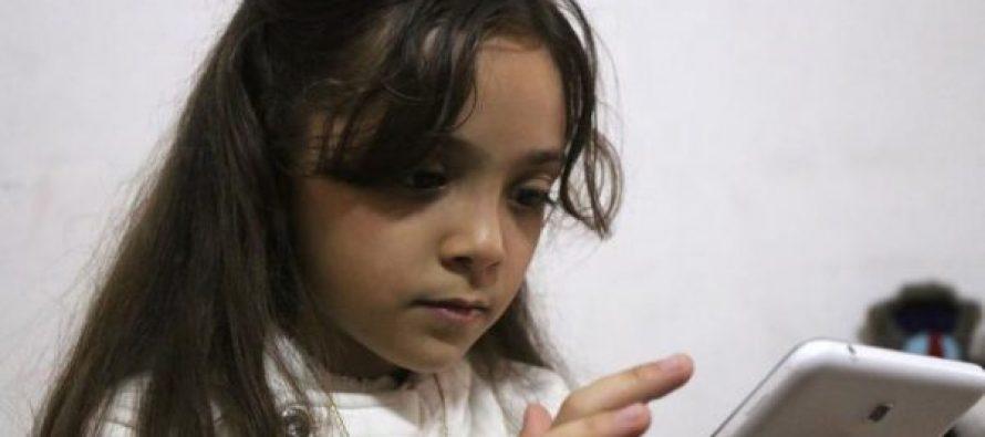 ევაკუირებულია 7 წლის ალეპოელი ბლოგერი