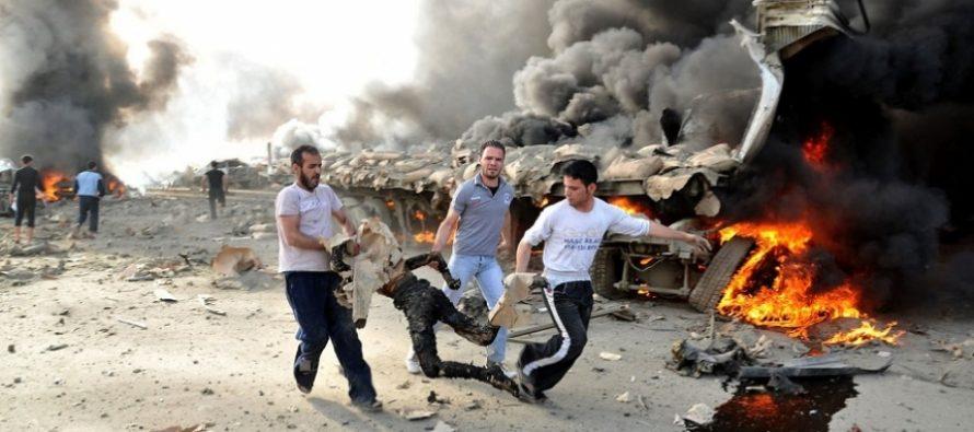 სირია-თურქეთის საზღვარზე აფეთქებას 19 ადამიანი ემსხვერპლა
