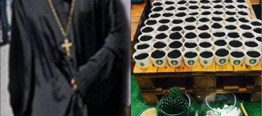 """""""გირჩის"""" ინფორმაციით, სამართალდამცველებმა ქუთაისში სასულიერო პირის სახლიდან მარიხუანა ამოიღეს"""