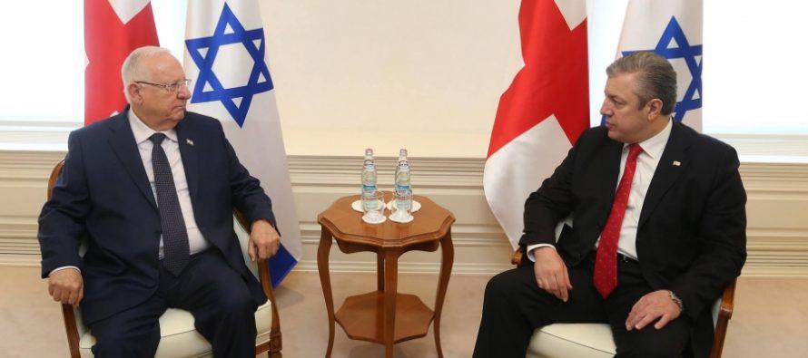 ისრაელის პრეზიდენტი: განვიხილავდით შესაძლებლობას, ვიზიტი გადაგვედო, თუმცა ვთქვით, რომ ტერორისტები ვერ გაგვაჩერებენ