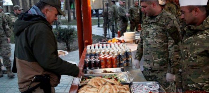 ქართველმა სამხედროებმა ქაბულში შობა-ახალი წელი აღნიშნეს