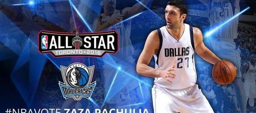 NBA All Star-ის შუალედური შედეგებით, ზაზა ფაჩულია მეორე ადგილზეა