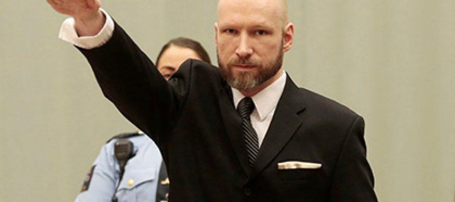 ბრეივიკმა სასამართლოში ნაცისტური მისალმება გამოიყენა