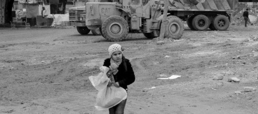 (FOTO) ცხოვრება ალეპოს ნანგრევებში
