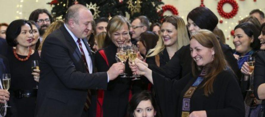 პრეზიდენტი: ძალა, რომელიც პრობლემებს დაგვაძლევინებს, ყველაზე მეტად ჩვენში, ქართულ საზოგადოებაშია