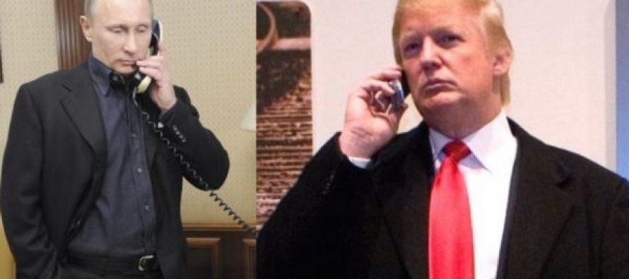 დღეს ტრამპის და პუტინის პირველი ოფიციალური სატელეფონო საუბარი შედგება