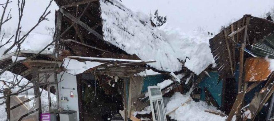 ხელვაჩაურში საცხოვრებელი სახლი ჩამოინგრა- დაშავდა 4, გარდაიცვალა 1 ადამიანი