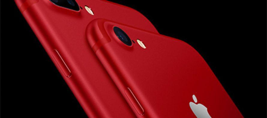Apple-მა წითელი iPhone გამოუშვა