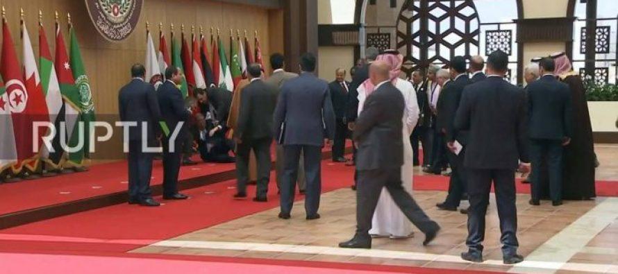 (video) ლიბანის პრეზიდენტი, მიშელ აუნსი პირდაპირ ეთერში წაიქვა