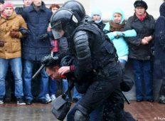 მინსკში გუშინდელი დაკავებების წინააღმდეგ აქცია გაიმართა