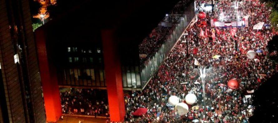 ბრაზილიაში საპენსიო რეფორმების წინააღმდეგ პროტესტანტებმა ფინანსთა სამინისტროს შენობა დაიკავეს