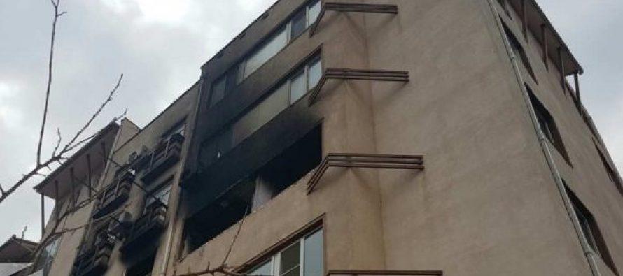 პოლიტკოვსკაიას #18-ში საცხოვრებელი კორპუსის მეოთხე სართულზე აფეთქება მოხდა