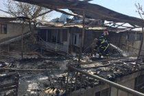 თბილისში საცხოვრებელი სახლი დაიწვა