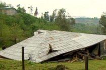 ძლიერმა ქარმა სოფელ ჭარნალში შაინიძეების სახლი დაანგრია
