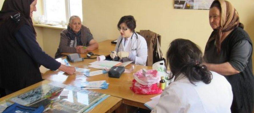 სოფელ კარაბულახის მოსახლეობას სამედიცინო შემოწმება ჩაუტარდა