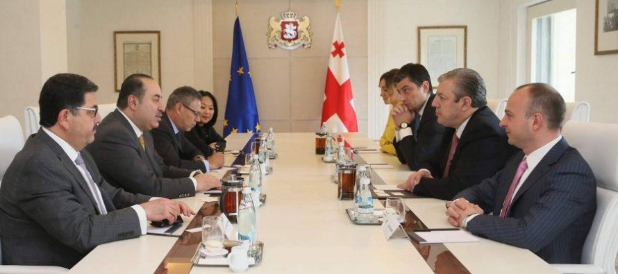 პრემიერ-მინისტრი ყატარელ ინვესტორებს შეხვდა