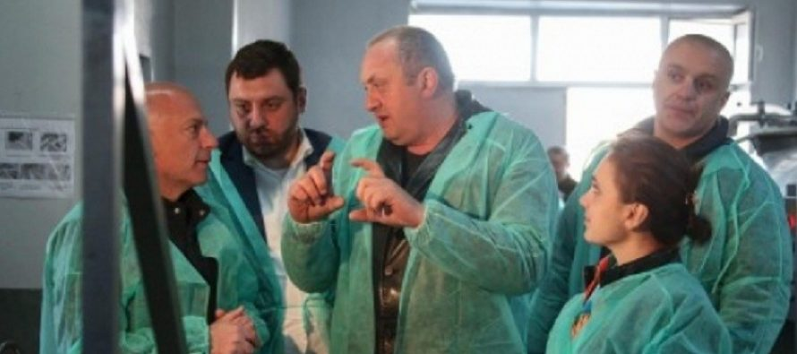პრეზიდენტმა სამცხე-ჯავახეთში ქართული საწარმოები დაათვალიერა