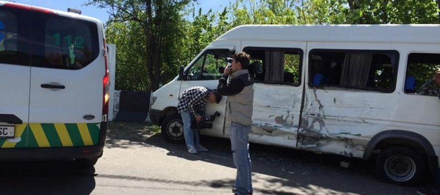 ქუთაისში ავარიის შედეგად ბავშვები დაშავდნენ