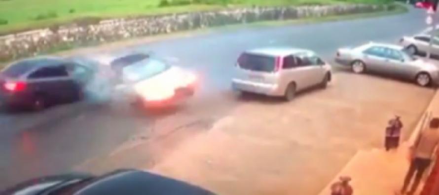 (video) საშინელი  ავტოსაგზაო შემთხვევა აფხაზეთში