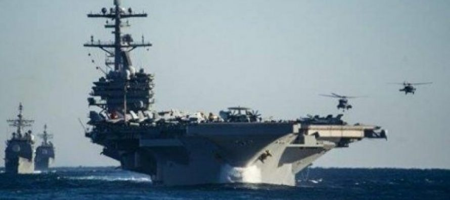 """აშშ-ს საზღვაო სამხედრო ძალებმა კორეის ნახევარკუნძულთან ავიამზიდ """"რონალდ რეიგანის"""" გადაადგილება დაიწყეს"""
