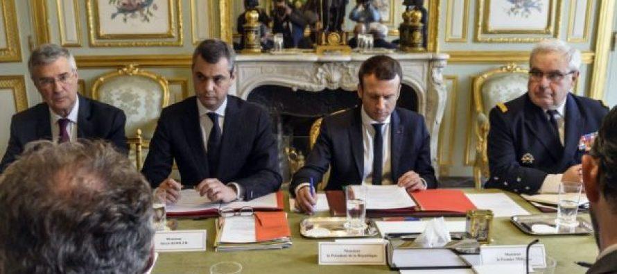 მანუელ მაკრონი რუსეთის პრეზიდენტ ვლადიმერ პუტინს ტელეფონით ესაუბრა