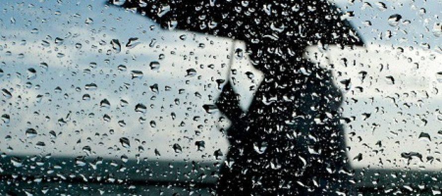 6-7 ოქტომბერს საქართველოში წვიმა და ელჭექია მოსალოდნელი