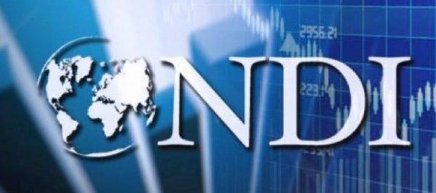 NDI – ის კვლევის თანახმად, გამოკითხულთა 48 პროცენტი ყველაზე მნიშვნელოვან პრობლემად სამუშაო ადგილებს ასახელებს