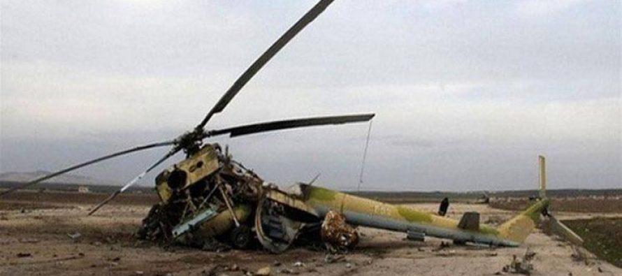 ასადის რეჟიმის სამხედრო აეროდრომი და 6 ვერტმფრენი განადგურებულია