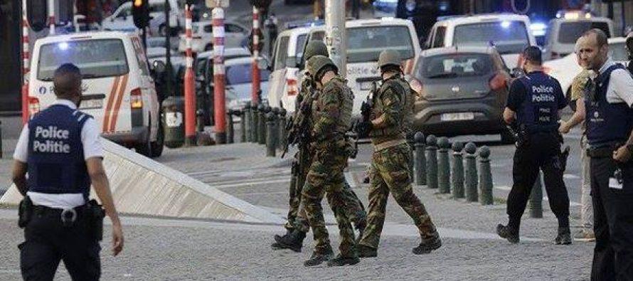 ბრიუსელში ავტომობილით პოლიციელები გადათელეს